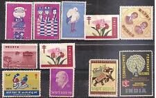 ERINNOFILIA - Lotto 11 erinnofili - Vari - India - Oriente - 22 Erinn.