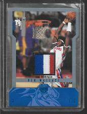 2004-05 Skybox LE - BEN WALLACE - 3 Color Game Used Jersey Patch PISTONS #d 8/15