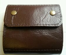 .243 / .264/ .308. 10 round Bullet wallet. Brown real leather. With studs.