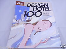 Travel Guide BRUTUS CASA Design hotel 100 Japanese Book 2002 from Japan F/S