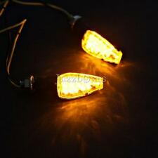 14 Led Motorcycle Front Rear Turn Signals Indicator Blinkers Street Sports Bike