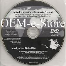 OEM Cadillac Navigation DVD U.S Canada Map FOR 2007 2008 2009 Cadillac SRX ONLY
