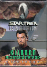 STAR TREK CCG TROUBLE WITH TRIBBLES KLINGON STARTER