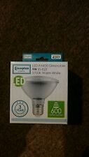 Crompton LED PAR30 9w 240v 2700k ES-E27 bulb Dimmable Warm White