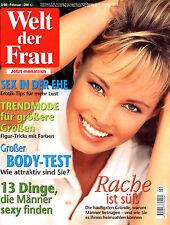 WELT DER FRAU, Nr. 2 von 1998, Sex in der Ehe; Rache ist süß; Kopfschmerzen