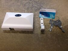NEW SOUTHCO MOBELLA BOAT MARINE RV WHITE HEAD CABIN ENTRY DOOR LATCH LOCK