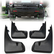 SET FIT FOR 08~15 LAND ROVER FREELANDER 2 MUD FLAP FLAPS SPLASH GUARD MUDGUARDS