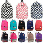 Womens Canvas Backpack Girls Satchel Rucksack Travel Shoulder School Bags Cute