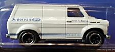 Hot Wheels 2015 Heritage Ford Transit Supervan Real Riders White 1:64