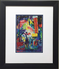 "LeRoy Neiman ""Mister Kelly's"" Newly CUSTOM FRAMED Art Print  Chicago Rush Street"