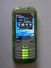 Nuevo Desbloqueado De Lujo Dual Sim Teléfono Móvil Efecto Verde Jade-Trusted Reino Unido Vendedor