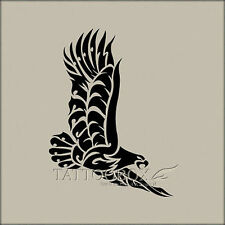 Gorgeous Reusable airbrush temporary tattoo stencil - Eagle 2 (Large size)