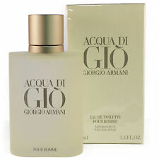 Acqua Di Gio  by Giorgio Armani Eau De Toilette for Men 3.4 OZ NEW