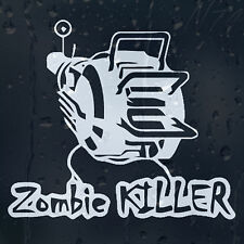 Zombie Response Outbreak Killer Gun Car Windscreen Laptop Decal Vinyl Sticker