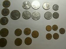 Coins Of France 24 Mixed from 10F to 5 Centimes.