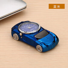 Blue Multifunctional Windproof Cigarette Lighter Sports Car Quartz Watch