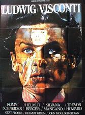 Affiche 120x160cm LUDWIG - LE CRÉPUSCULE DES DIEUX 1973 Visconti Romy Schneider