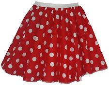 """UK Size 8-12 Skater Skirt Length 15"""" Fancy Dress 50s Costumes"""