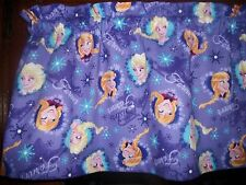 Disney Movie Frozen Sisters Forever Purple fabric window curtain topper Valance