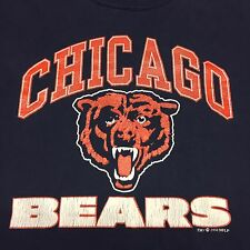 Vintage Chicago Bears T-Shirt Football NFL Soldier Field Monsters Midway Defense