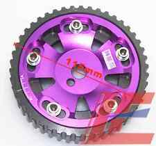 MITSUBISHI 4G93 ENGINE MOTOR ALUMINUM ADJUSTABLE CAM GEAR WHEEL SPROCKET PURPLE