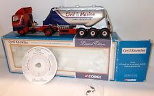 Corgi 75901 - Leyland DAF 85 Powder Tanker, Cyril Knowles Ltd - Boxed.(1:50)