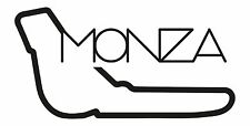 MONZA RACE CIRCUIT. Car vinyl sticker F1 Italian Grand Prix Formula One