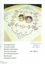 Sticken   Tischdecke   Abbügelmuster Kreuzstich   Anleitung & Muster DDR 1984  6