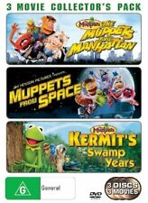 The Muppets Take Manhattan , Muppets From Space / Kermit's Swamp Years (DVD, 2