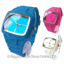 Henley Unisex Fashion Watch Silicone Strap in 3 Colours