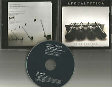 APOCALYPTICA Enter Sandman w/RARE EDIT PROMO DJ CD single METALLICA remake cover