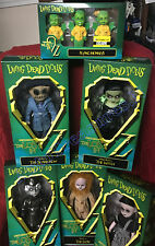 11 Living Dead The Wizard Of Oz Set Dorothy Tin Man Lion Scarecrow Witch Monkeys