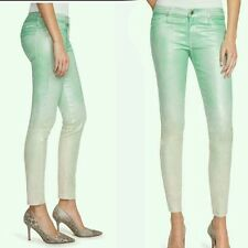 $168 guess by Marciano green The Skinny No. 61 Opaline Ombre Wash size 25