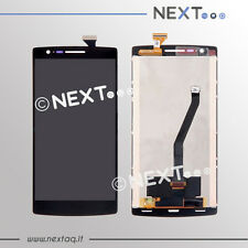 Schermo Display touch screen oneplus one 1 ORIGINALE + FRAME e kit riparazione