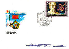 Sojus  39 First Day Cover Signed Z Gurragcha  Mongolia Cosmonaut Sojus  39