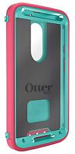 New OtterBox 77-50233 Defender Series for MOTO X 2nd Generation -Rose(Teal/Pink)