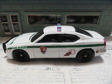 GREEN LIGHT POLICE DODGE CHARGER PARK RANGER NATIONAL PARK SERVICE  UNIT