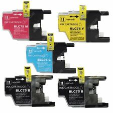 5-PACK High-Yield Ink Cartridge Set for Brother MFC J430W Inkjet Printer