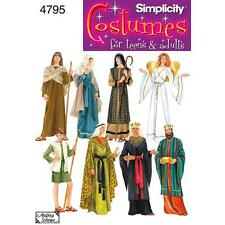 SIMPLICITY SEWING PATTERN Misses', Men's or Teens' Nativity Costumes  4795