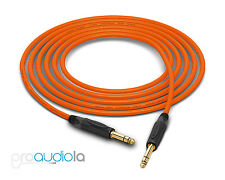 "Mogami Quad 2534 Cable | Neutrik Gold 1/4"" TRS 