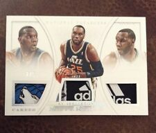 2014-15 NATIONAL TREASURES AL JEFFERSON LOGOMAN LAUNDRY TAG CARD 2/5