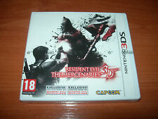RESIDENT EVIL THE MERCENARIES 3D 3DS (PAL ESPAÑA PRECINTADO)
