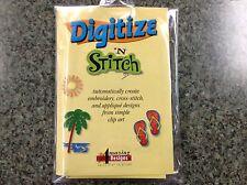 Digitize n' Stitch Applique' Digitizing Software Plus Bonus!