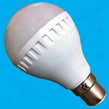 6x ampoules 6W globe énergie ultra basse instantané lampe à bayonnette BC B22
