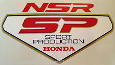 "HONDA NSR250 NSR250SP ""SPORT PRODUCTION"" REAR SEAT DECAL 2"