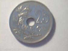 25 centimes Belgique 1923