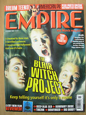 EMPIRE FILM MAGAZINE No 125 NOVEMBER 1999 BLAIR WITCH PROJECT