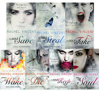Soul Screamers Series Rachel Vincent 7 Book Collection Set, Before I Wake, New