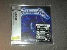 Metallica ride the lightning JAPAN MINI LP SHM CD GENUINE SEALED last copy