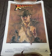15 SHEET LOT ORIGINAL 1981 Raiders of the Lost Ark  Mini Poster Indiana Jones